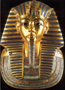 King Tutankhamun's Death Mask